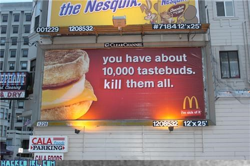 billboard McDonald's - 3612322560
