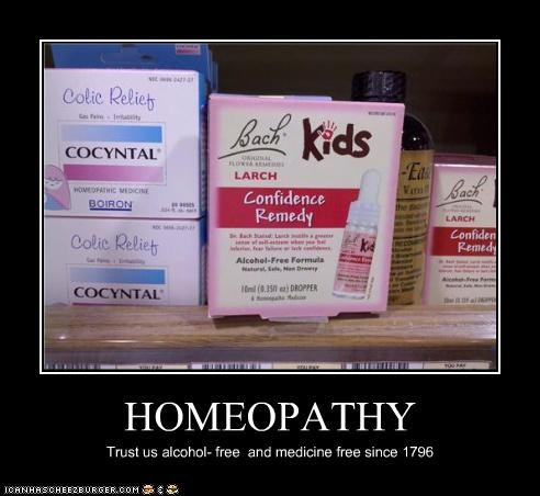 HOMEOPATHY Trust us alcohol- free and medicine free since 1796