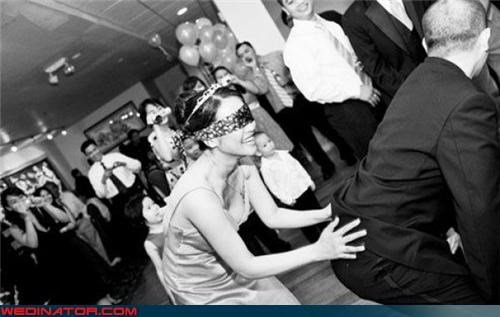 ass grab,bw,blindfolded,blindfolded bride,confusing,Crazy Brides,crazy groom,eww,funny wedding game,Groomsmen,miscellaneous-oops,silly game,surprise,technical difficulties,wedding games,wtf,wtf is this