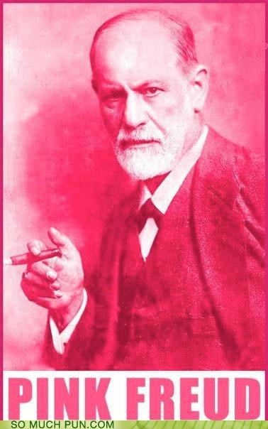classic rock colors psychoanalyst psychology puns Sigmund Freud slip - 3615719168