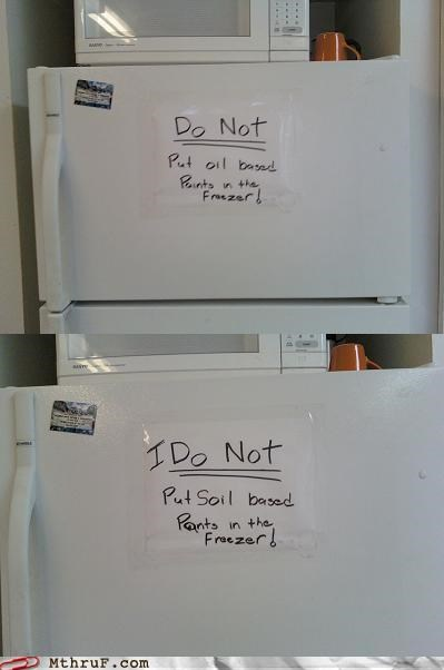 awesome co-workers not basic instructions boredom cubicle boredom dickheads doodle fridge fridge politics graffiti gross lame mess office kitchen passive aggressive prank re-write sass screw you signage soil pants ughhh way to go banksy wiseass wtf - 3617307136