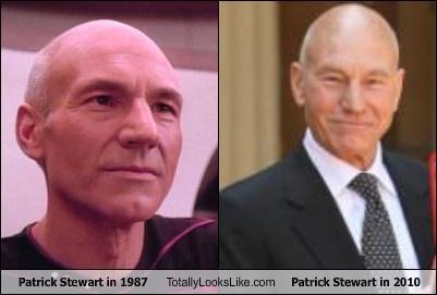 actor aging bald Hall of Fame patrick stewart Star Trek - 3618145024