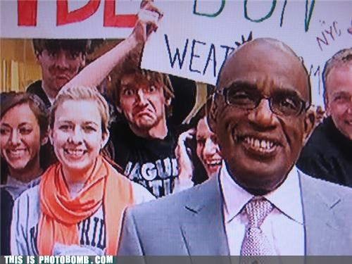 al roker background Celebrity Edition happy signs TV