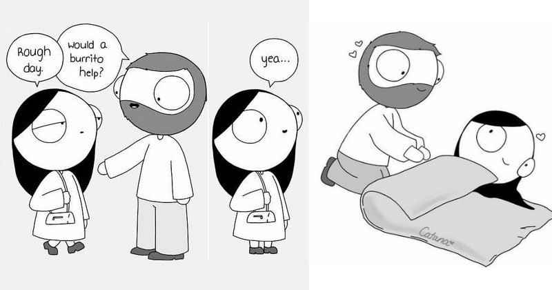 Comics That Summarize What It's Like to Be With Someone Special