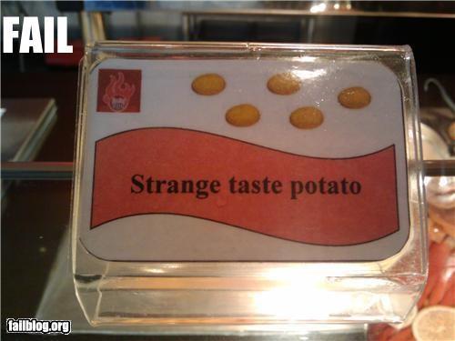 bad description failboat food g rated potato - 3621674752