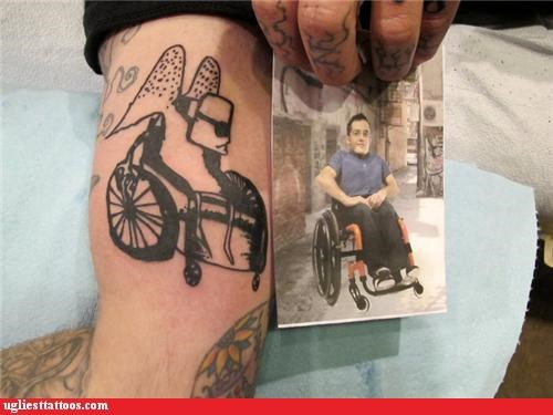 tribute,wheelchair,wings