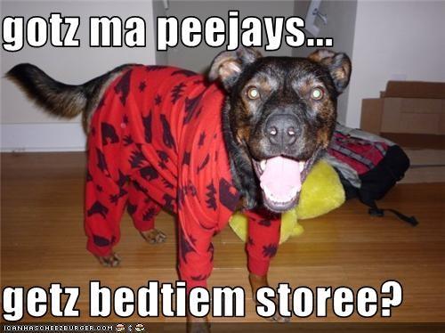 bedtime,Hall of Fame,pajamas,story,whatbreed