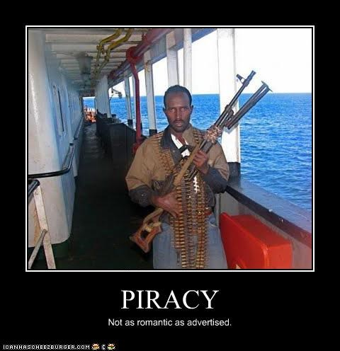 PIRACY Not as romantic as advertised.