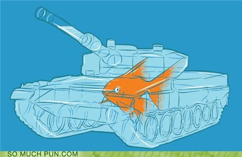evolution fish pets puns tanks water weapons - 3627174400