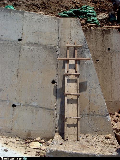 DIY ladder Professional At Work - 3627505408