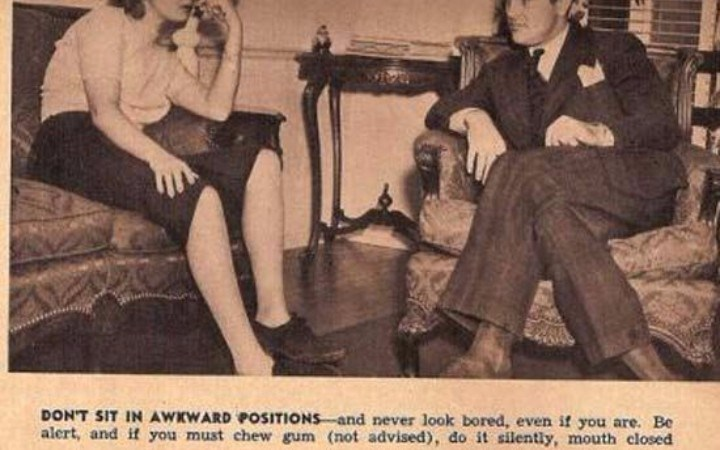 dating tips for women in the 1940's