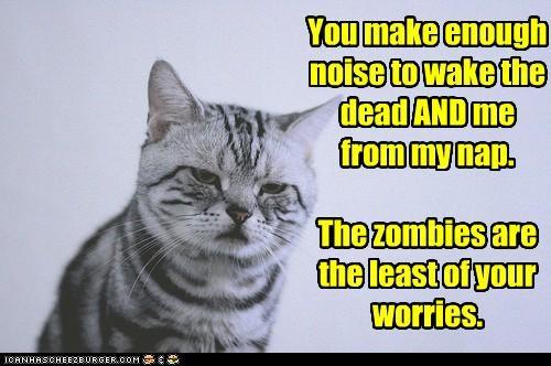 nap threats zombie apocalypse - 3627974912