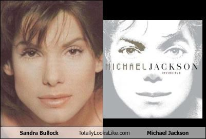 actress albums covers michael jackson musician Sandra Bullock - 3628220416