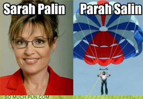 alaska boats para sailing politics puns Sarah Palin - 3630092800