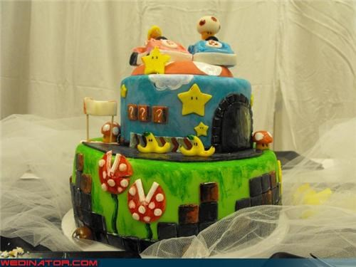 cake,nerdy,Mario Kart,video games,mario,nintendo