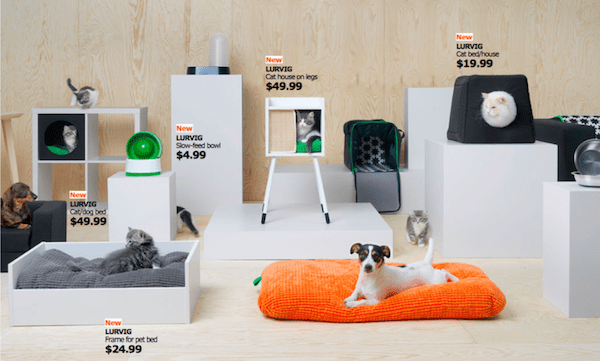 the new pet collection of Ikea