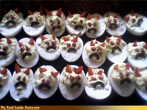 deviled eggs devils eggs evil hard boiled - 3632974592