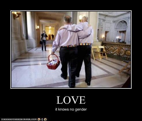 LOVE it knows no gender