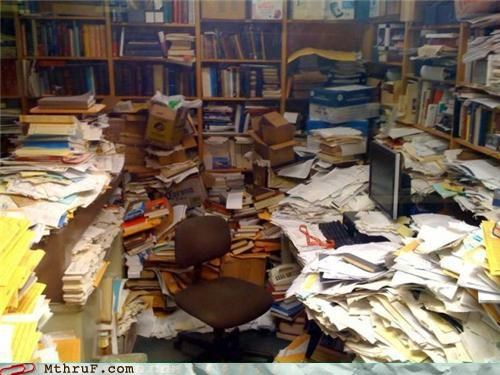 awesome co-workers not books busted cleanup cubicle fail depressing disaster zone disorganized ergonomics gross lazy mess Office osha pig sty Sad slovenly Terrifying - 3634334208
