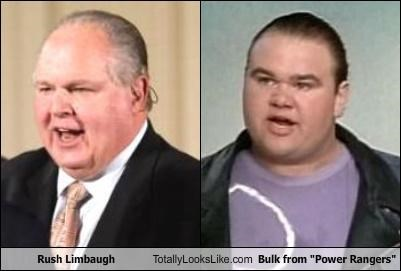 Bulk fat Paul Schrier power rangers pundit Rush Limbaugh - 3636715520