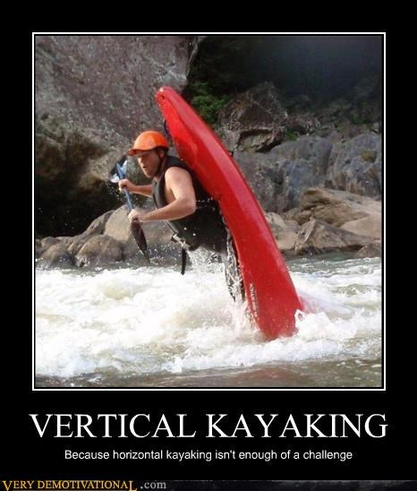 awesome challenge extreme sports FAIL impossible kayaking water