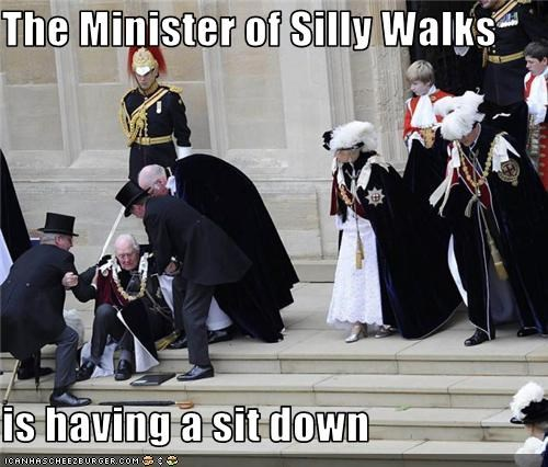 monty python,the ministry of silly walks