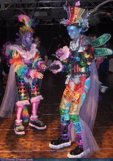 costume rainbows what you do on weekends is your own business wings - 3639265536