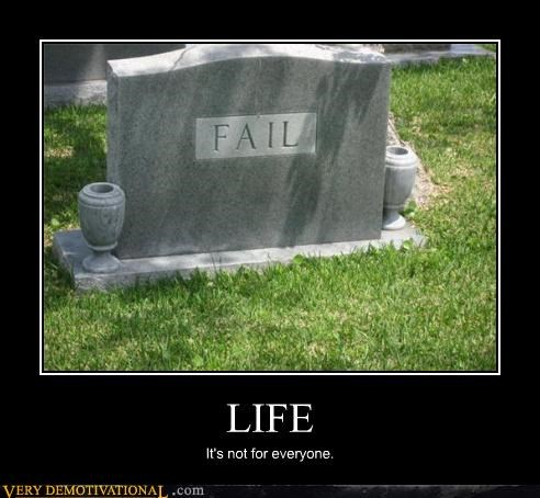 Death FAIL hilarious life the human condition tombstone - 3639650560