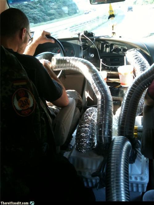 ac air flow car hose mod - 3639678976