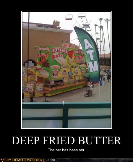 america an argument for veganism bacon butter Carnival deep fried food for your health heart attack Pure Awesome sike Terrifying - 3640085248