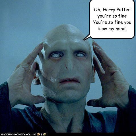 Oh, Harry Potter you're so fine You're so fine you blow my mind!