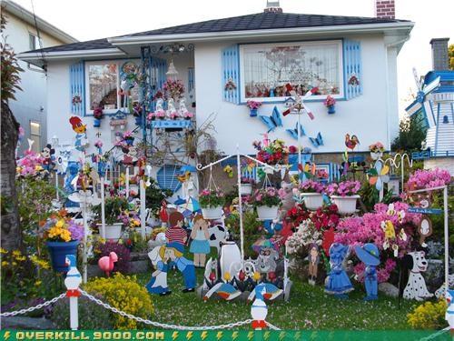 lawn ornament OverKill 9000 wtf - 3640744960