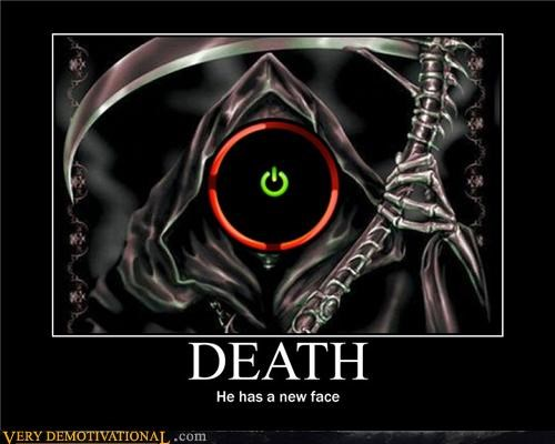 Death,red ring of death,scythe,Terrifying,tragedy,Videogames,x-box 360