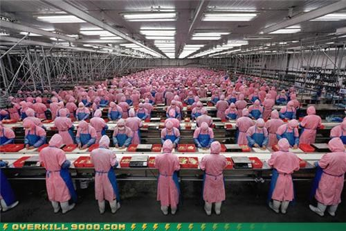 business factory OverKill 9000 the same uniforms wtf