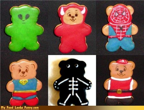 bears cookie bear cookies costume halloween Sweet Treats - 3646529792