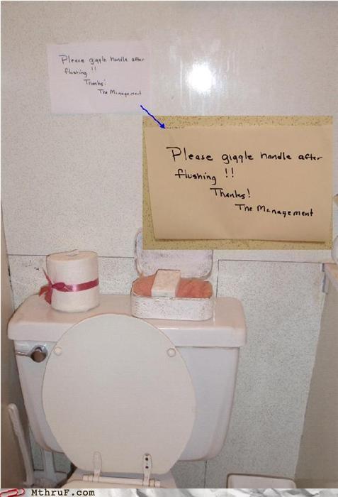 basic instructions bathroom busted cubicle fail depressing dumb error FAIL hardware misspelling paper signs Sad screw you signage spelling fail toilet toilet graffiti wtf - 3647058944