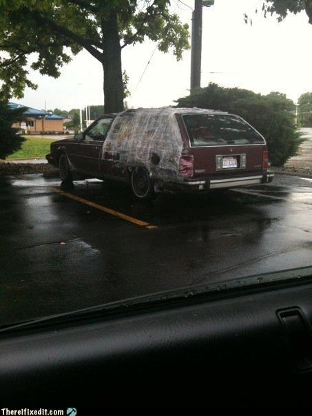 car fail car fix plastic wrap - 3647432192