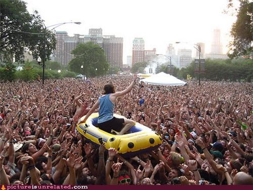 concerts Music Party people problem solving water wtf - 3647747840