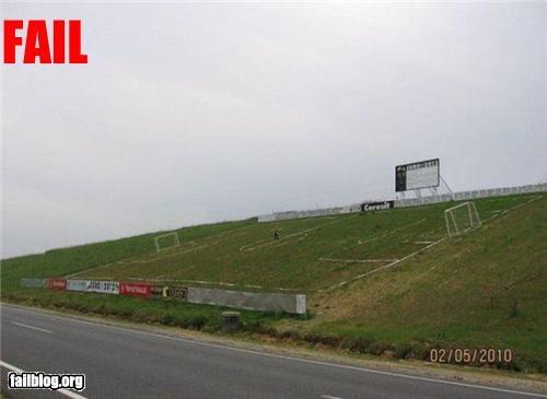 angle failboat hill soccer field sports - 3648413440