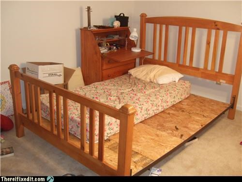 bed frame mattress plywood