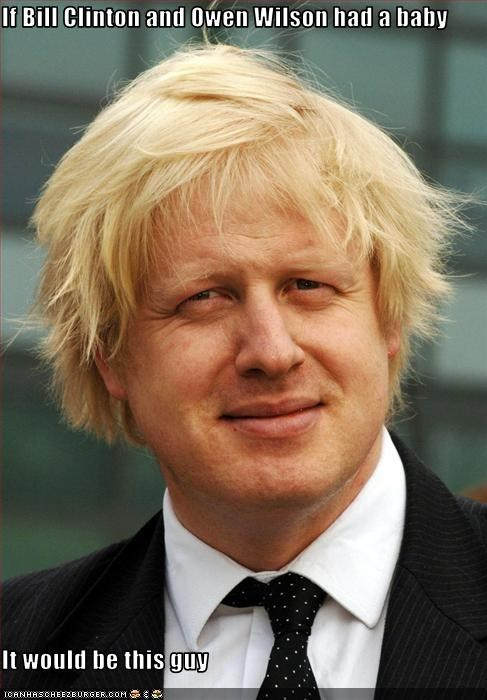 bill clinton boris johnson great britain London mayors owen wilson UK - 3649222912