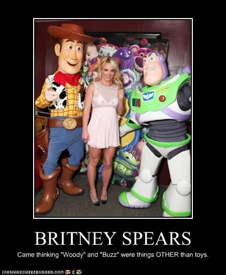 britney spears buzz lighyear toy story woody - 3651543808
