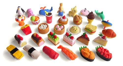 food erasers Japanese erasers kawaii erasers - 3652258304