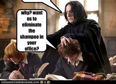 Cleverness Here Detention! why? want us to eliminate the shampoo in your office? Cleverness Here