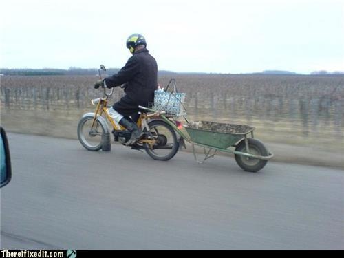 bike frankenstein motorcycle towing - 3655399936