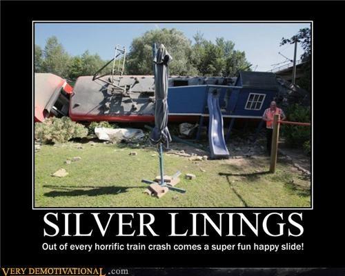 disasters fun Sad slides trains turning lemons into lemonade - 3656342016