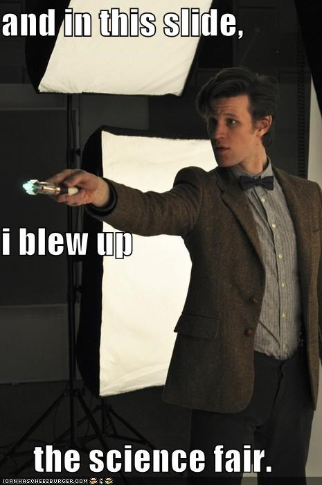 actor doctor who explosions Matt Smith science sci fi sexy Brits - 3657328896