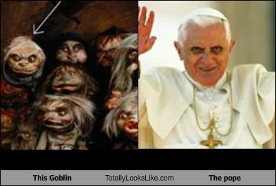 goblin,painting,pope,Pope Benedict XVI,religion