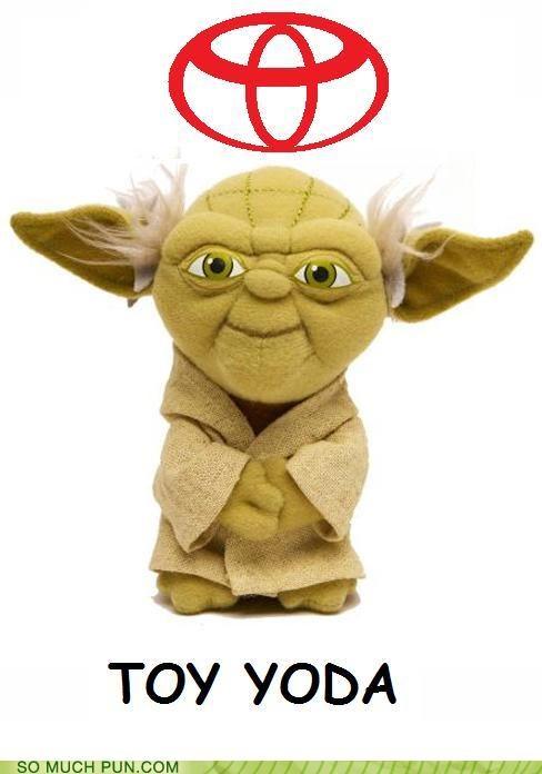 Prius puns star wars toyota toys yoda - 3661254656