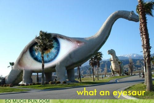 decorations dinosaurs eyes pain puns - 3661828864